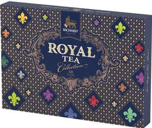 """Подарочный набор чая Richard """"Royal Tea Collection"""", 15 вкусов,120 сашет"""