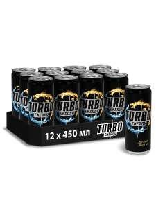 12 банок энергетического напитка TURBO ENERGY
