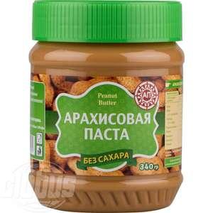 Арахисовая паста без сахара, 340 г