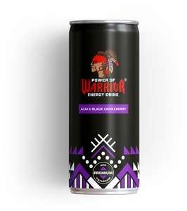 Энергетический напиток Power of Warrior Acai&Black Chokeberry 0,33 л