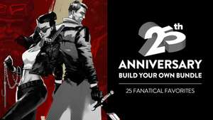 [PC] Скидки на игры в честь 25-летия Fanatical (примеры в описании)