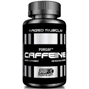 """""""ЧистоКоф"""" кофеин Kaged Muscle 100 капсул по 200 мг"""