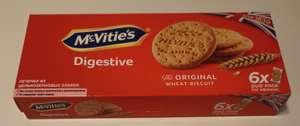 [Уфа, м-н Лукошко] Печенье McVities Digestive из цельнозерновых злаков, 176 г
