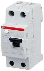 УЗО ABB 30мА тип AC FH202 (2CSF202004R1630) 2 полюса 63 А