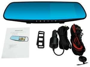 Зеркало-видеорегистратор с камерой заднего вида Blackbox DVR Vehicle Full HD 1080