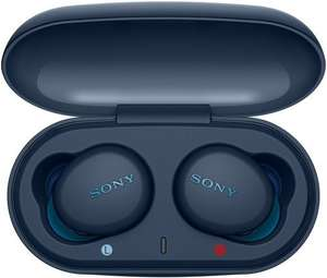 Беспроводные наушники с микрофоном Sony WF-XB700 Blue