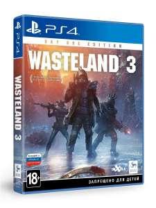 Игра для PS4: Wasteland 3 Издание первого дня