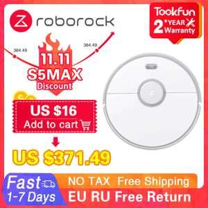 Моющий робот-пылесос Roborock S5 Max с 11.11