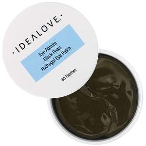 Гидрогелевые патчи для глаз с черным жемчугом Idealove, Корея, 60 шт. (1уп. на заказ)