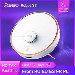 Робот-пылесос 360 S7 SLAM Route, 2000 Па