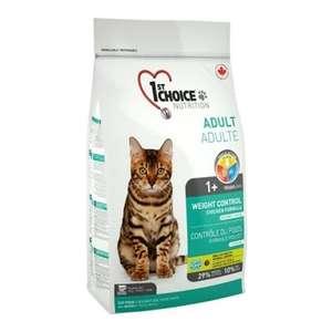 Сухой корм 1st Choice для кастрированных котов и стерилизованных кошек, контроль веса 5.44кг
