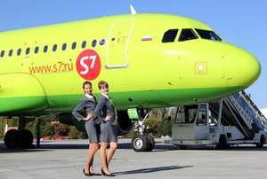 Распродажа авиабилетов S7 (например, Москва-Турция-Москва)