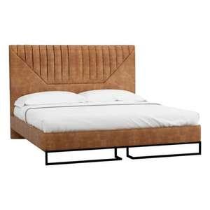 Кровать R-HOME 1.6 Loft Alberta Браун, размер 160х200