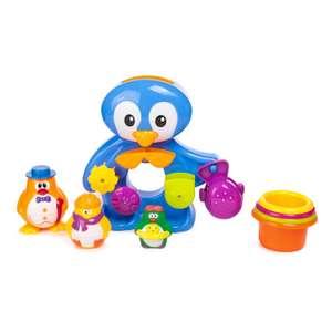 Пингвины Baby Go на отдыхе для ванны (развивающая игрушка)