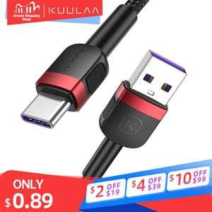 KUULAA Type C кабель 1м