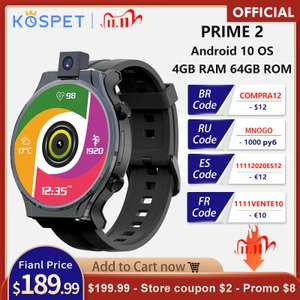Смарт часы KOSPET PRIME 2 4GB 64GB 13MP камера