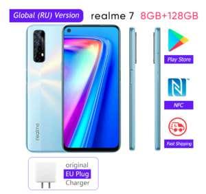 Смартфон Realme 7 8+128 Гб (глобальная версия) Ускоренная доставка