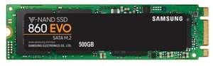 SSD Samsung M.2 SATA III 500Gb MZ-N6E500BW 860 EVO 2280