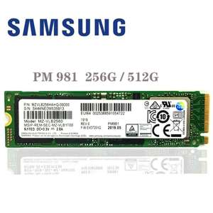 SSD SAMSUNG PM981 512 GB