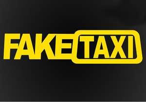 Наклейка FAKE TAXI