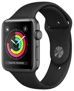 Умные часы c GPS Apple Watch Series 3 42mm плюс дополнительный ремешок