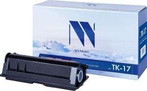 Тонер-картридж NV Print TK-17, черный, для лазерного принтера, совместимый