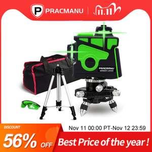 Лазерный уровень от PRACMANU