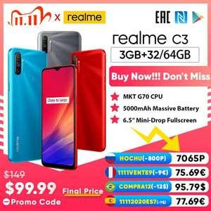 Смартфон Realme C3 3/64, NFC Global Version