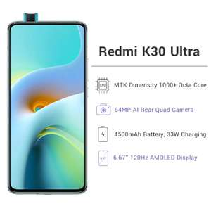 Смартфон Xiaomi Redmi K30 Ultra (120hz AMOLED, NFC)