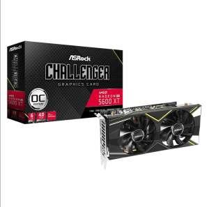 Видеокарта ASRock Challenger AMD Radeon RX 5600XT 1620MHz 6144MB 12000MHz 192 bit RTL