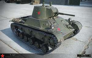 T-127 Premium Tank + 7 дней премиума в WoT