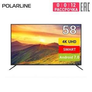 "Телевизор 58"" Polarline 58PU55STC-SM 4K | SmartTV"