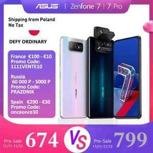 Смартфон ASUS Zenfone 7 Pro от Asus Authorised Store (без купона 59107,28)