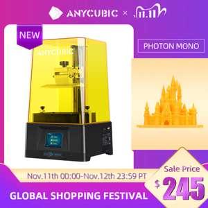 Фотополимерный 3Д принтер ANYCUBIC Photon Mono