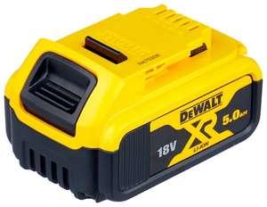 Аккумулятор DeWALT DCB184 18 В 5 А·ч