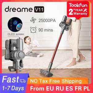 Ручной беспроводной пылесос Dreame V11