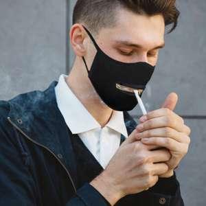 Многоразовая маска для рта на молнии