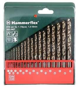 Набор сверл Hammer 202-907 No7, 19 шт.