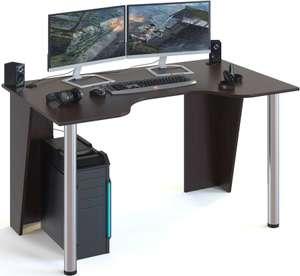 Стол игровой СОКОЛ КСТ-18, ЛДСП, венге