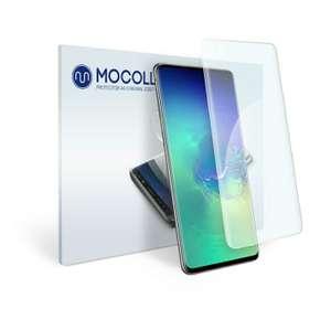 Защитная пленка MOCOLL прозрачная для Samsung S10, 2 штуки (серия Golden Amor)