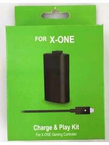 Аккумулятор БРУТАЛИТИ 1400 mAh для XBOX ONE + кабель для геймпада, черный
