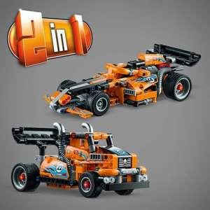 Конструктор LEGO Technic 42104 Гоночный грузовик (+ 2 вариант сборки: гоночный автомобиль)