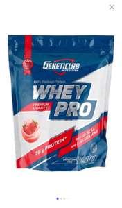 Протеин Geneticlab Nutrition Whey Pro (1000 г) клубника, 1 уп