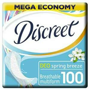 Гигиенические прокладки на каждый день Deo Spring Breeze Multiform 100 Шт. DISCREET
