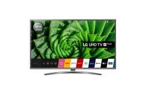 "4K ТВ 43"" LG UN8100, TM100, Magic пульт, HDR 10 Pro, Bluetooth 5.0, 2020"