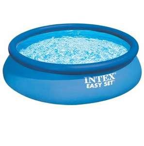 [СПб] Бассейн надувной Intex Easy Set 28130/56420( диаметр 3,66м, глубина 0,76м)