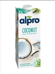 Кокосовый напиток с рисом Alpro и другие вкусы