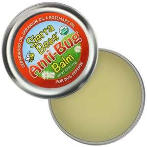 Бальзам против насекомых Sierra Bees масло кедра, герани и розмарина, 17 г
