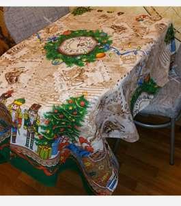 Скатерть 150х120 Remainewarm Щелкунчик Новый год