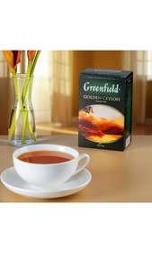Чай Greenfield чёрный листовой 200 г.